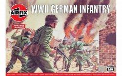 Model plastikowy Niemiecka piechota II Wojna Światowa