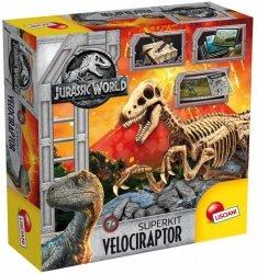 Lisciani Zestaw edukacyjny Jurassic World Szkielet dinozaura Velociraptor