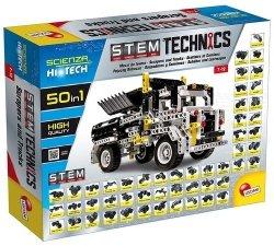 Lisciani Zestaw konstrukcyjny HI-TECH Pojazdy konstrukcyjne 50w1