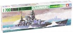 Model plastikowy Niemiecki krążownik Scharnhorst
