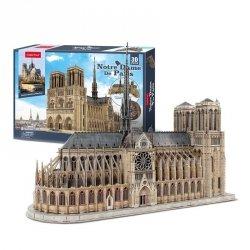 Cubicfun Puzzle 3D Katedra Notre Dame 293 elementy