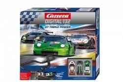 Carrera Tor wyścigowy GT Triple Power