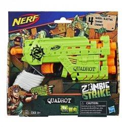 Hasbro Wyrzutnia Nerf Zombie Quadrot