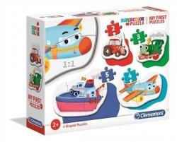 Clementoni Puzzle Moje pierwsze puzzle Środki transportu