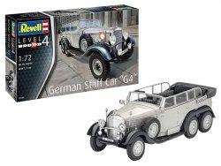 Revell Model plastikowy niemiecki samochód sztabowy G4