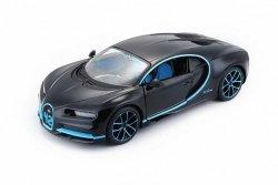 Maisto Model metalowy Bugatti Chiron czarno-niebieski