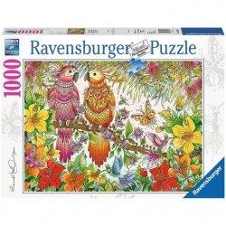 Ravensburger Puzzle 1000 elementów Tropikalne Papugi