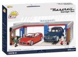 Cobi Klocki Klocki Cars 500 elementów Garaż Maserati