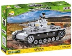 Cobi Klocki Klocki Historical Collection Panzer III Ausf.E - niemiecki czołg średni