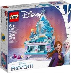 LEGO Polska Klocki Księżniczki Disneya Szkatułka na biżuterię Elsy