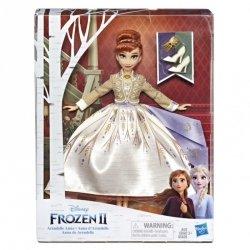 Hasbro Lalka w sukni Deluxe, Anna Kraina Lodu 2 (Frozen 2)
