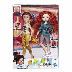 Hasbro Lalka Księżniczki Disneya Księżniczka Bella i Merida
