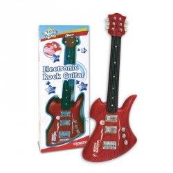 Bontempi Bontempi Gitar rockowa czerwona