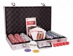 Cartamundi Żetony do Pokera w walizce aluminiowej
