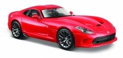 Maisto Model kompozytowy Dodge Viper GTS czerwony 1/24