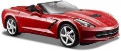 Maisto Model kompozytowy Corvette Stingray 2014 czerwony 1/24