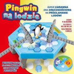 LUCRUM GAMES Gra Pingwin na Lodzie