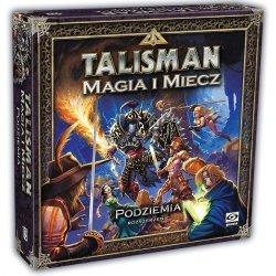 Galakta Gra Talisman Magia i Miecz Dodatek- Podziemia