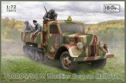 Ibg Model plastikowy V3000S/SSM Maultier German Halftrack