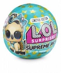Zestaw figurek L.O.L. Surprise Pets Supreme edycja limitowana 1 sztuka