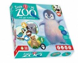 Zielona Sowa Gra Książka z grą Zosia i jej zoo