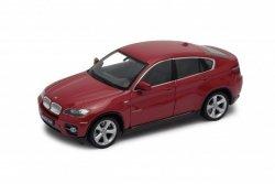 Welly Model kolekcjonerski BMW X6, czerwony
