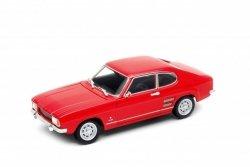 Welly Model kolekcjonerski 1969 Ford Capri, czerwony