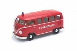 Welly Model kolekcjonerski 1963 Volkswagen T1 czerwony