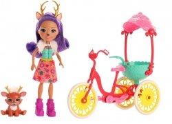 Mattel Lalka Enchantimals + Pojazd