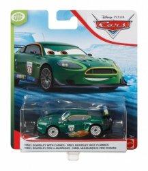 Mattel Pojazd Cars Nigel Gearsley Płomienie