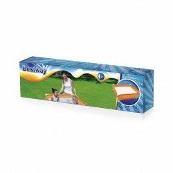 BESTWAY Basen Pomarańczowy mini stelaż 122x122x30,5cm