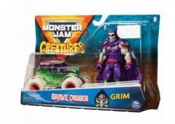 Spin Master Pojazd z figurką, Grave Digger Monster Jam
