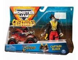 Spin Master Pojazd z figurką, Pirates Curse Monster Jam