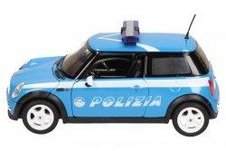 Welly Samochód Mini Cooper Polizia