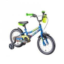 """Rower dla dzieci DHS Speedy 1401 14"""" - model 2019 Kolor Zielony"""