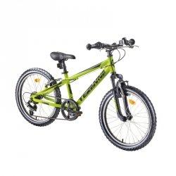 """Dziecięcy rower górski junior DHS Teranna 2423 24"""" - model 2019 Kolor Niebieski"""