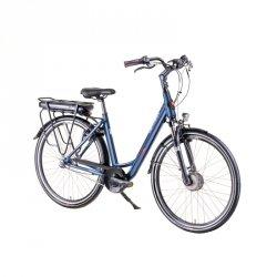 """Elektryczny rower miejski Devron 28124 28"""" - model 2019 Kolor Czarny, Rozmiar ramy 19,5"""""""