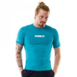 Koszulka męska do sportów wodnych Jobe Rashguard 2018 Kolor Niebieski, Rozmiar S
