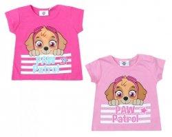 T-shirt niemowlęcy Psi Patrol : Rozmiar: - 86cm