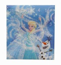 Kalendarz adwentowy z akcesoriami do włosów Frozen - Kraina Lodu