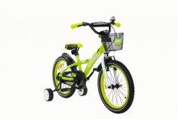 Rower dziecięcy aluminiowy Cossack Blanic – zielony 18 cali