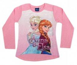 Bluzka długi rękaw Frozen - Kraina Lodu : Rozmiar: - 92/98
