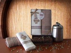 Ręcznik Bawełniany Premium Coffee Kakao 2x 50x70 Kpl.