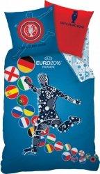 Pościel UEFA EURO 2016 160x200 cm