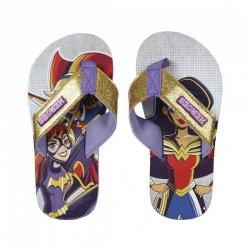 Klapki, japonki Superhero girls : Rozmiar: - 33