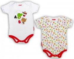 Body niemowlęce – 2 pak Fisher Price : Rozmiar: - 18 m