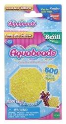 EPOCH  Aquabeads Żółte koraliki-klejnociki