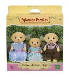 EPOCH  Sylvanian Families Rodzina biszkoptowych labradorów (Tata, Mama, Dziecko)