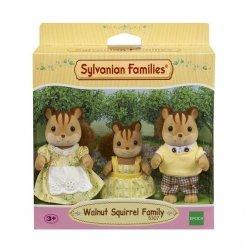 EPOCH  Sylvanian Families Rodzina wiewiórek  (Tata, Mama, Dziecko)