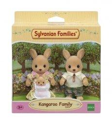 EPOCH  Sylvanian Families Rodzina kangurków (Tata, Mama, Dziecko)